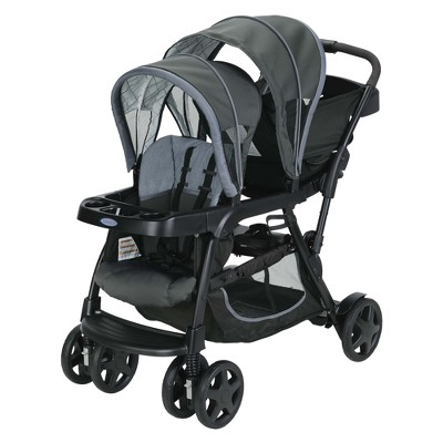 Graco Ready2Grow Click Connect Double Stroller - Whitmore