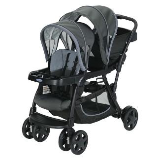 Graco Ready2Grow Click Connect Double Stroller - Whitmore
