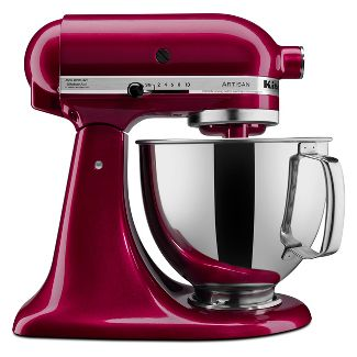 KitchenAid Refurbished Artisan Series 5qt Stand Mixer - Bordeaux RRK150BX