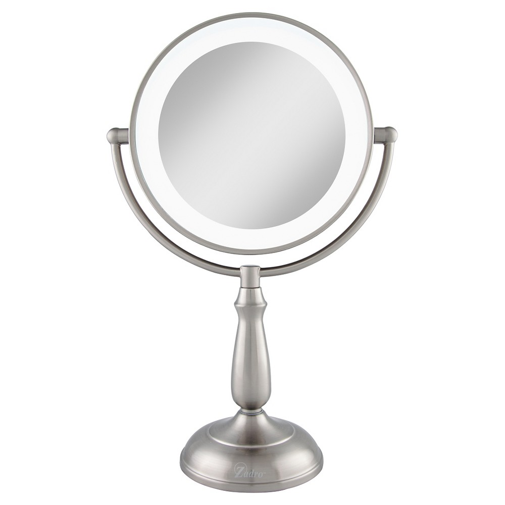 Image of Zadro Next Generation LED Lighted Smart Dimmer Mirror, Silver