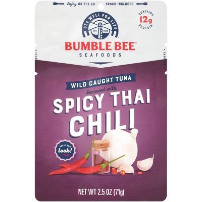 Bumble Bee Thai Chili Seasoned Tuna Pouch with Spoon - 2.5oz