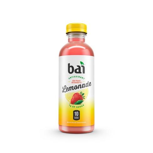Bai Sao Paulo Strawberry Lemonade - 18 fl oz Bottle - image 1 of 4