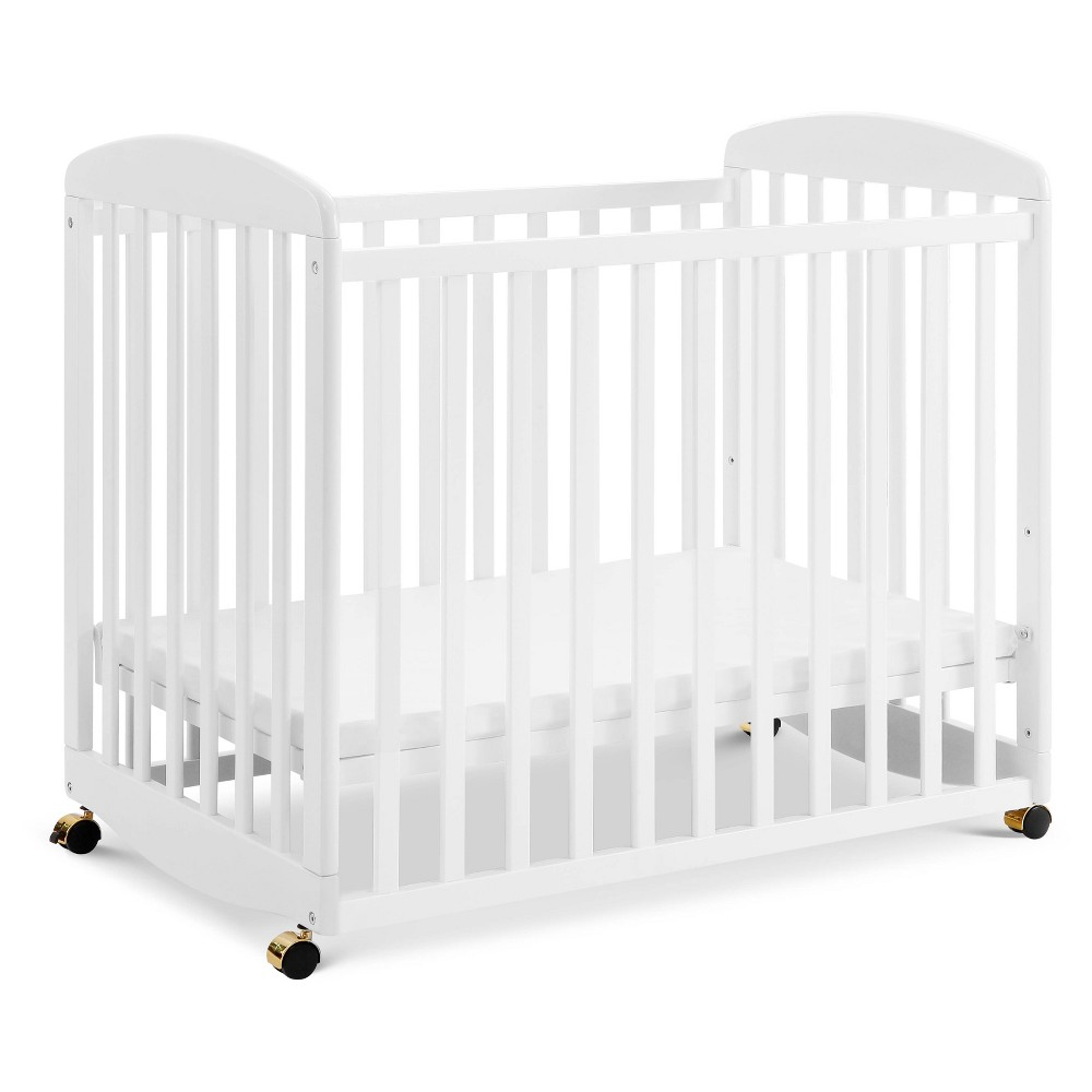 Image of DaVinci Alpha Mini Rocking Crib - White