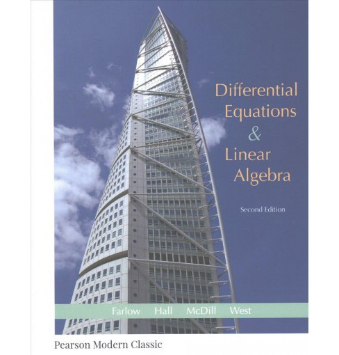 Differential Equations & Linear Algebra (Paperback) (Jerry Farlow & James E. Hall & Jean Marie McDill & - image 1 of 1