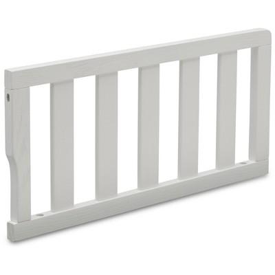 Delta Children Toddler Guardrail - Textured White
