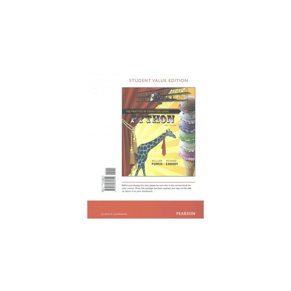 Practice of Computing Using Python (Student) (Paperback) (William Punch & Richard Enbody)