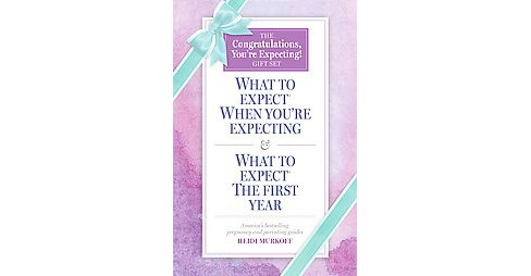 Congratulations, You're Expecting! Gift Set : What to Expect When You're Expecting / What to Expect: the - image 1 of 1