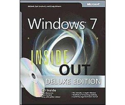 Microsoft Windows 7 Inside Out (Deluxe) (Hardcover) (Ed Bott) - image 1 of 1