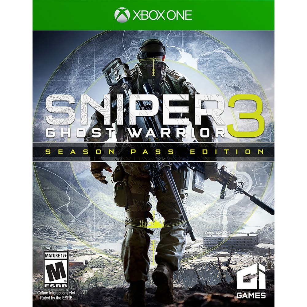Sniper Ghost Warrior 3 Season Pass Edition Day One Xbox One