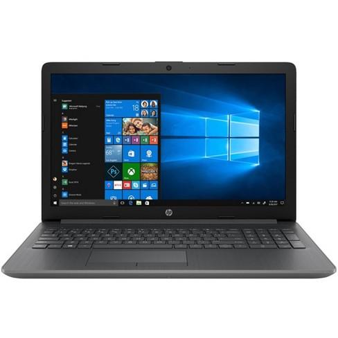 "HP 15 Series 15"" Laptop AMD A4 4GB RAM 128GB SSD Chalkboard Gray - AMD A4-9125 Dual-core - AMD Radeon R3 Graphics - 2.30 GHz processor speed - image 1 of 4"