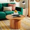 Devin Round Pedestal Coffee Table - Safavieh - image 2 of 4