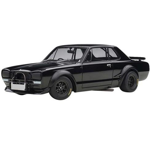 "1972 Nissan Skyline GT-R (KPGC-10) Racing Black ""Millennium"" 1/18 Diecast Model Car by Autoart - image 1 of 4"