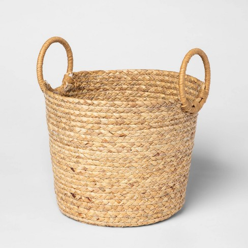 Small Basket with Round Handles Natural - Threshold™ - image 1 of 2