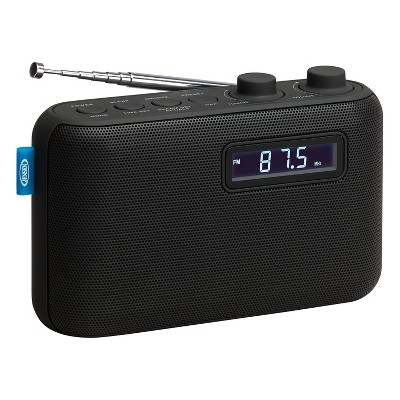 JENSEN Portable AM/FM Digital Radio - Black (SR-50)