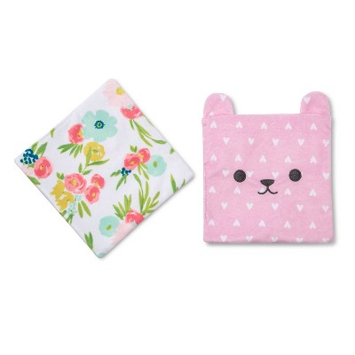 Crinkle Baby Paper 2pk - Cloud Island™ Pink