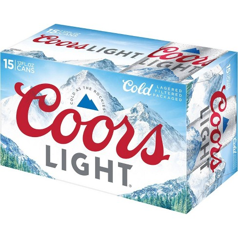 Coors Light Beer - 15pk/12 fl oz Cans - image 1 of 2