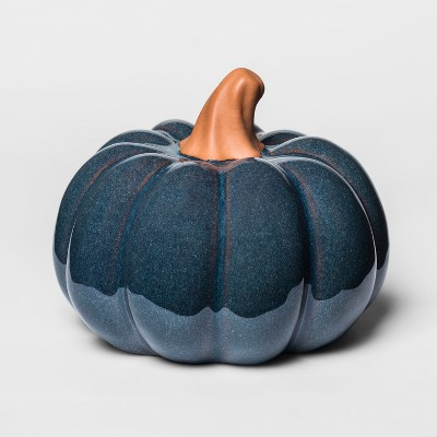 Pumpkin Figural - Blue - Threshold™