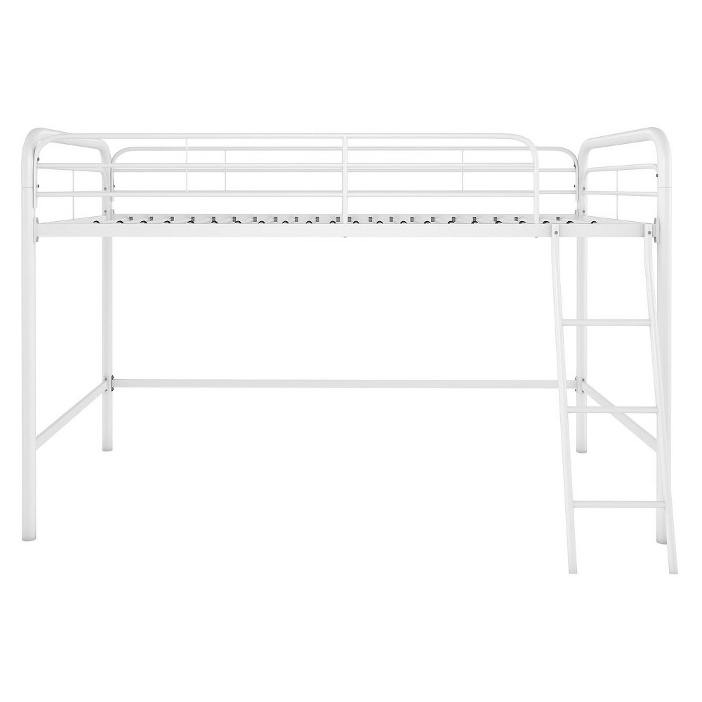 Image of Adeline Junior Metal Loft Bed White - Room & Joy