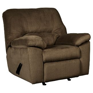 Dailey Chocolate - Rocker Recliner - Signature Design by Ashley