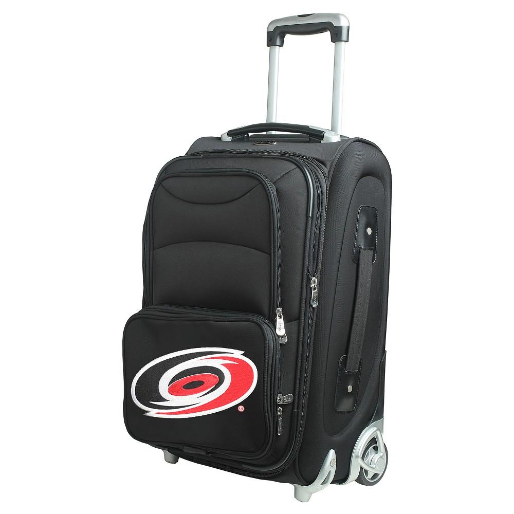 NHL Carolina Hurricanes Mojo 21 Carry On Suitcase - Black