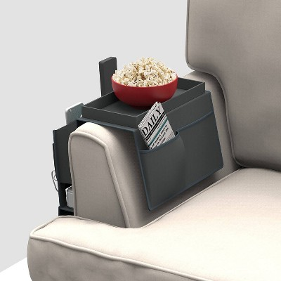 Mindfull Products Couch Caddy Gray