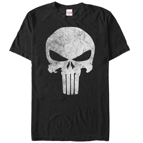 Marvel Men's Punisher Retro Skull Symbol T-Shirt - image 1 of 1