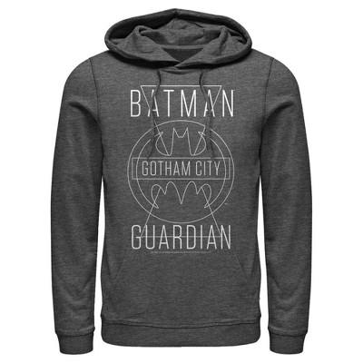 Men's Batman Gotham City Guardian Pull Over Hoodie