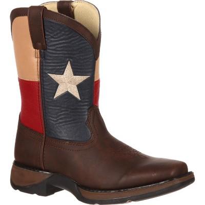 LIL' DURANGO Kids' Texas Flag Western Boot