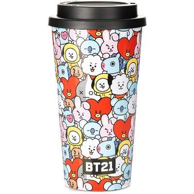 Line Friends BT21 15oz Travel Mug