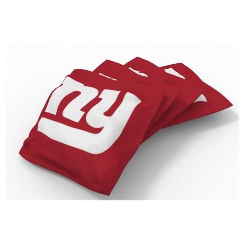 Fine Nfl New York Giants Wild Sports Regulation Cornhole Bean Bag Set 4Pk Dailytribune Chair Design For Home Dailytribuneorg