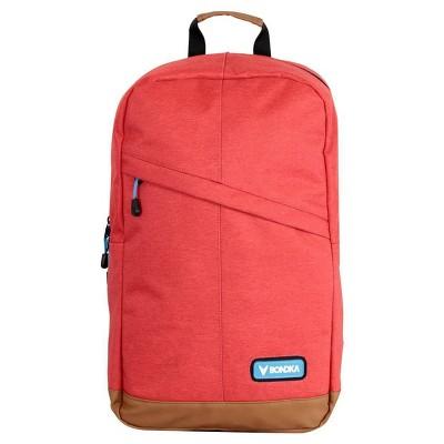 """Bondka 18.5"""" Milan Backpack - Red"""