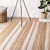 Riverton Hand Woven Striped Area Rug Tan - Threshold™ designed with Studio McGee - image 2 of 4