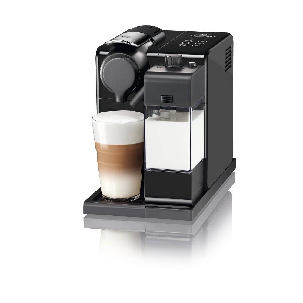 Image of Nespresso Lattissima Touch Espresso Machine Washed Black by De'Longhi