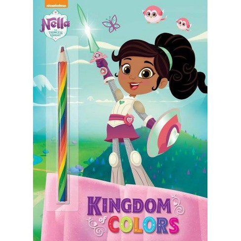 Kingdom Of Colors (Nella The P - By Golden Books (Paperback) - image 1 of 1