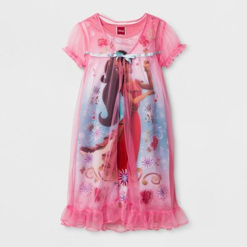 8f599d1f4268 Girls  Disney Elena Of Avalor Nightgown - Pink 10   Target