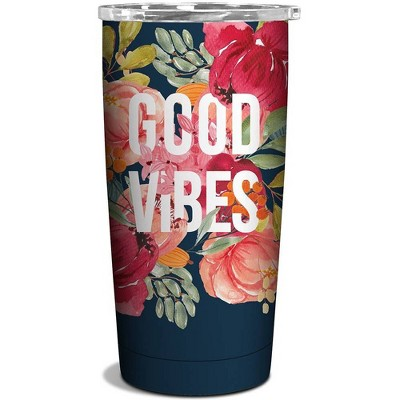 OCS Designs 17oz Stainless Steel Bottle Good Vibes
