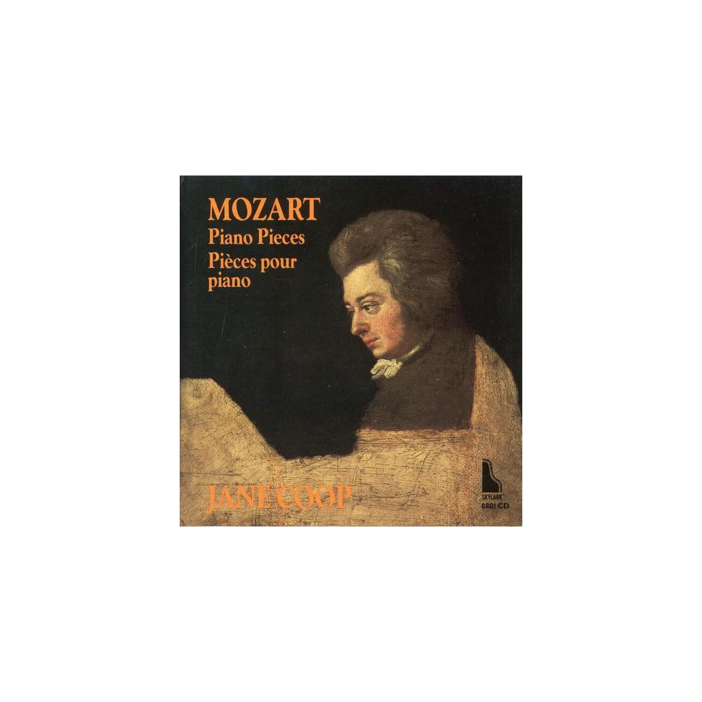 Jane Coop - Mozart:Piano Pieces (CD)