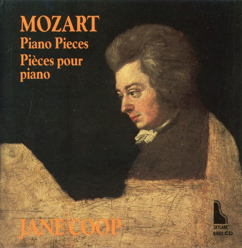 Jane coop - Mozart:Piano pieces (CD) - image 1 of 1