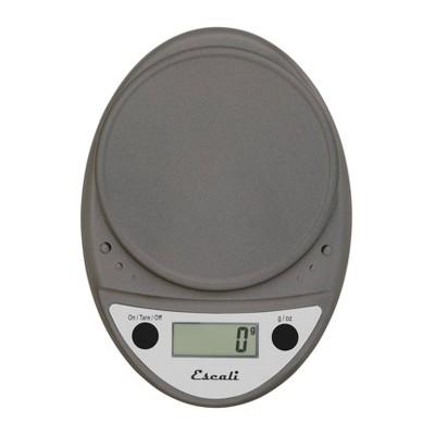 Escali Primo Digital Kitchen Scale Metallic