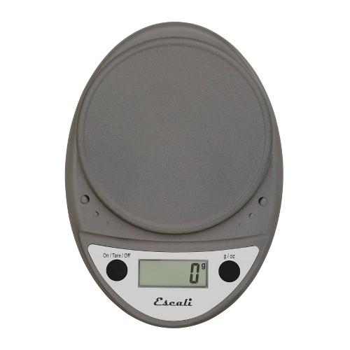 Escali Primo Digital Kitchen Scale Metallic, Grey