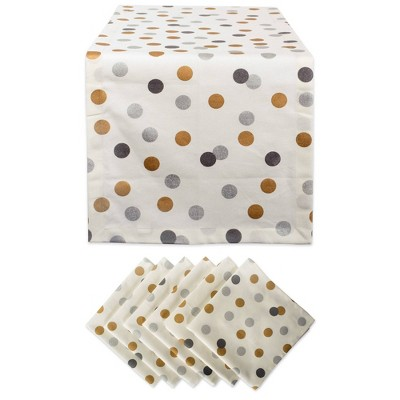 Confetti Table Set Metallic - Design Imports