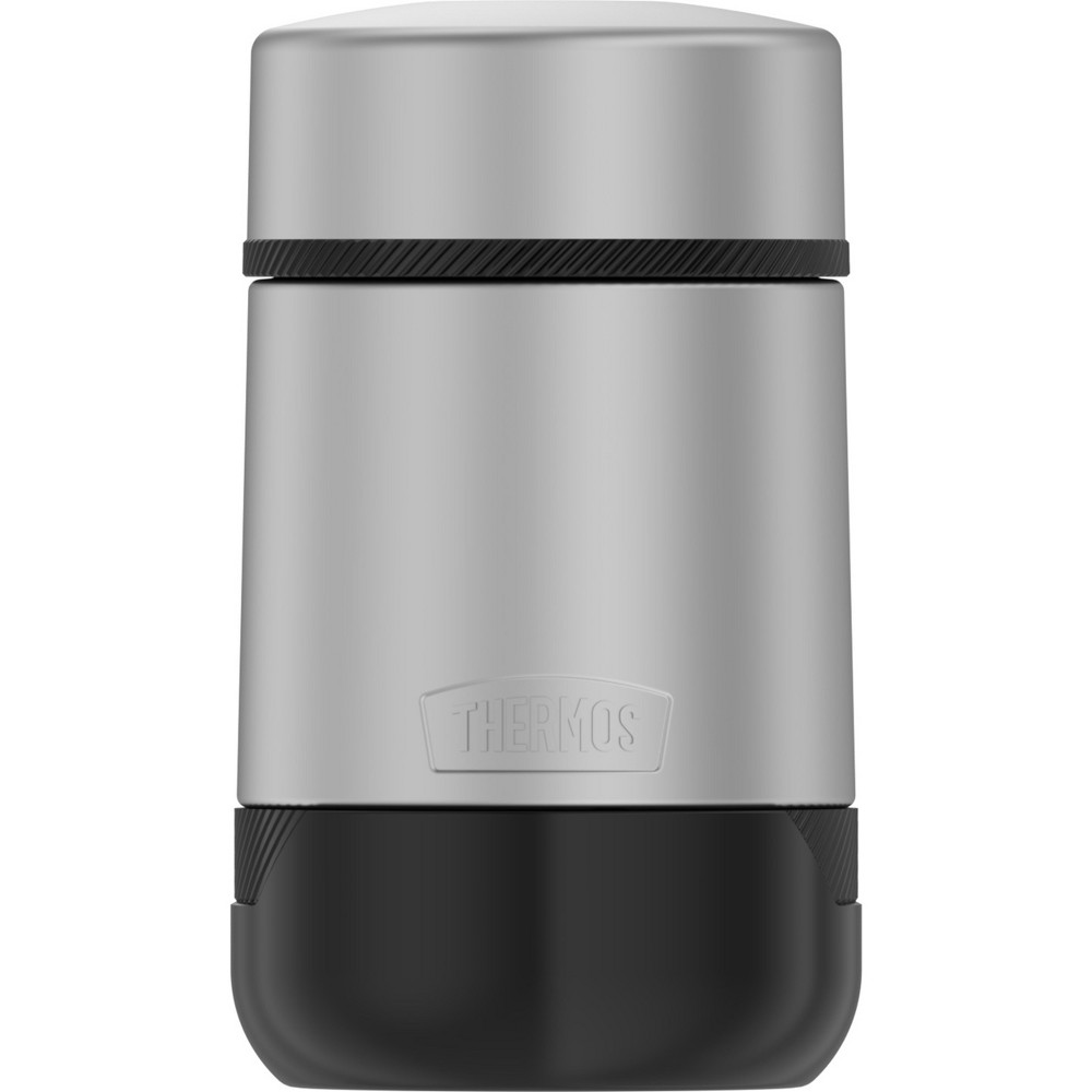 Thermos 18oz Stainless Steel (Silver) Food Jar Vault Thermos 18oz Stainless Steel Food Jar Vault Pattern: Solid.