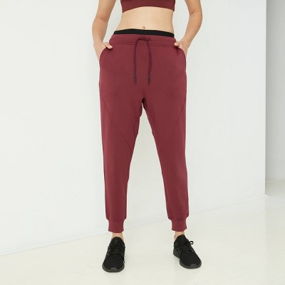 Women's Mid-Rise Cozy Jogger Pants with Drawstring - JoyLab™