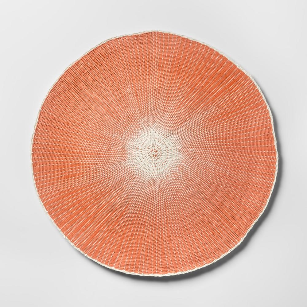 Orange Round Starburst Placemat - Opalhouse