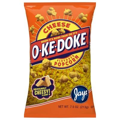 O-Ke-Doke Cheese Flavored Popcorn - 7.5oz
