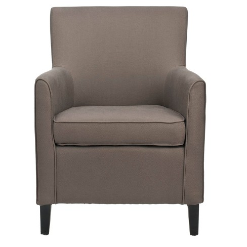 Sarah Arm Chair Brown - Safavieh® - image 1 of 4