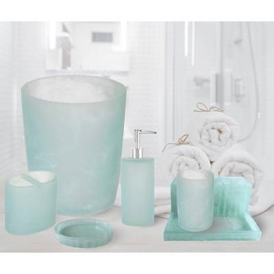 Geneva Large Toothbrush Holder Aqua - Popular Bath