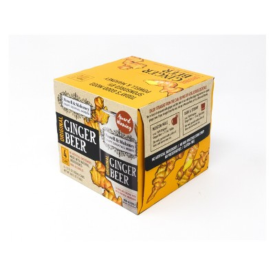 Powell & Mahoney Original Ginger Beer - 4pk/12 fl oz Cans