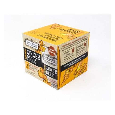 Powell & Mahoney Original Ginger Beer - 4pk/12 fl oz Cans - image 1 of 4