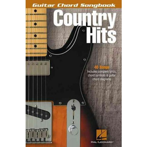 Country Hits Guitar Chord Songbook Paperback Target